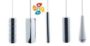 Bathroom Toilet Washroom Pull Cord Handle Light Switch Metal Chrome Options