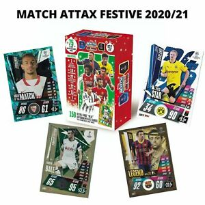MATCH ATTAX 2020/21 FESTIVE EDITION  EXCLUSIVE CARDS STAR LEGEND MOTM 20/21 UEFA