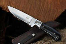 Custom D2 Steel & Buffalo Horn Hunting Knife from DCKC - FREE Expedited Shipping