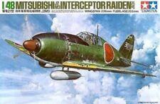 Aviones militares de automodelismo y aeromodelismo Mitsubishi de escala 1:48