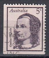Australien Briefmarke gestempelt 5c Caroline Chisholm. / 155