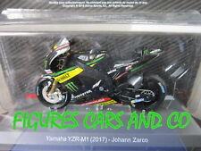 MOTO GP 1/18 YAMAHA YZR-M1 JOHANN ZARCO  2017  COLLECTION ALTAYA