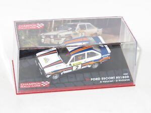 1/43 Ford Escort Mk2 RS1800  Rally 1000 Lakes Finland 1981  A.Vatanen
