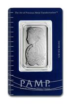 1oz Pamp Suisse Platinum Bar with Assay Certificate