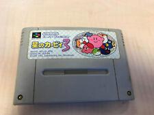 Kirby's Dream Land 3 Super Nintendo SNES SFC Super Famicom jap