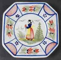Quimper MISTRAL BLUE (OCTAGONAL) Bread & Butter Plate 527834