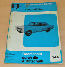 Vauxhall Viva Reparaturanleitung B144 Bucheli Verlag