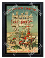 Historic Empire of India Exhibition, Earl's Court, 1895 Advertising Postcard