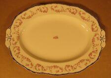 Alfred Meakin Harmony Rose Harmony Shape Turkey Platter Made in England