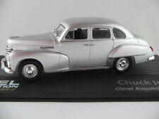 "IXO #134 Opel Kapitän (1951)""Chuck Jordan"" in silbermetallic 1:43 NEU/PC-Vitrine"