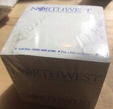 "Northwest Corporate Credit Union Notepad Cube 3 1/2"" X 3 1/2 X 3 1/2"""