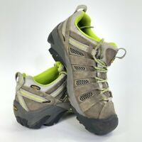 Keen Womens Voyageur Hiking Shoes Brown Lace Up Low Top Vented 011113 9