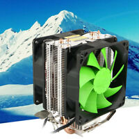 New Hot Silent Dual Fan CPU Cooler For Intel LGA775/1156 AMD AM2 /AM3/AM4 Ryzen