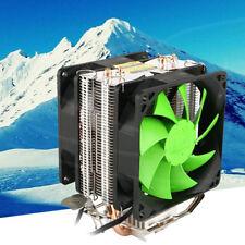 New Hot Silent Dual Fan CPU Cooler For Intel LGA775/1156 AMD AM2 /AM3/AM4 Ryzen