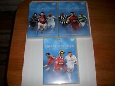 UEFA European Great Matches DVD( Three DVD  Volume 1.2 and 3)