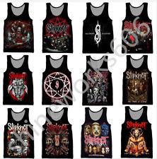 New Fashion Summer Women/Men Slipknot 3D Print Casual Tank Tops Sleeveless Vest
