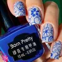 BORN PRETTY 15ml Nail Art Stamping Plate Polish  Nail Stamp Varnish 7#