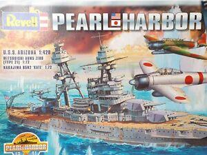 Revell 05751 Pearl Harbor 1:420 USS Arizona 1:72 Japanese Warplanes Model Kit