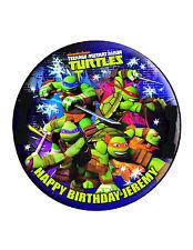 Ninja Turtles Edible Cake Image Personalised Birthday Decoration Party Topper
