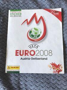 Panini Euro 2008 Complete Sticker Album VG