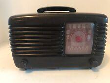 New ListingVtg 1948 Philco Transitone Tube Radio Model 48-200-121 - Beautiful Bakelite Case