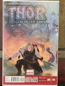 THOR GOD OF THUNDER #2 HIGH GRADE | 1ST APP GORR THE GOD BUTCHER | 1ST PRINT