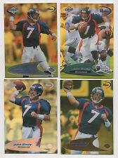 1998 Collector's Edge Odyssey Level 2 HoloGold all 4 John Elway cards Bv $455