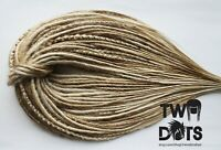 Blonde Mix Synthetic Dreads, DE, SE Dreads & Mix, 20 Inches,