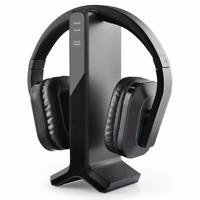 Avantree 2.4G RF Wireless headphones for TV Watching w/Transmitter Charging Dock
