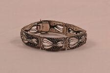 DESIGNER 925er Silber Armband TEKA Theodor Klotz Vintage 70s bracelet MODERNIST