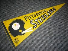1967 Nfl Pittsburgh Steelers Vintage Full Size Pennant Ex