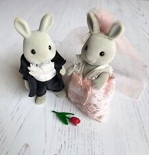 Vintage Sylvanian Families Tomy First Edition Brighteyes Wedding Set RARE HTF