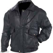 Mens Genuine Leather Jacket Sizes S M L XL 2X 3X 4X 5X