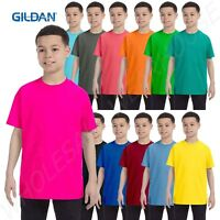 Gildan Youth Short Sleeves Heavy Cotton 5.3 oz XS-XL T-Shirt MG500B