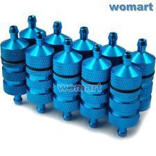 10Stk 36mm RC 1/8 1:10 Kraftstofffilter Fuel Filter Alum Für RC Nitro Motor Car
