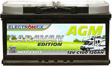 Electronicx Caravan Edition Batterie AGM 120AH 12V Wohnmobil Boot Versorgung
