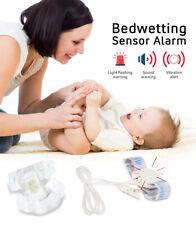 Bedwetting Sensor Alarm Wet Reminder Adjustable Elastic Band For Baby Kids Safe