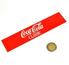 Vintage Coca-Cola Cavalier Automaten Label Beschriftung Schild Machine Tag SA12
