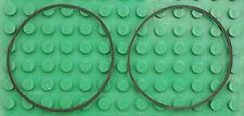 Missing Lego Brick x138 Black x 2 Rubber Band Large
