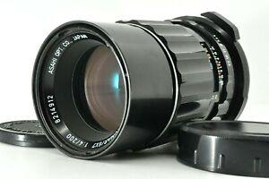 """ Exc +5 "" SMC PENTAX TAKUMAR 67 200mm F4 for 6X7 67II MF Zoom Lens from Japan"