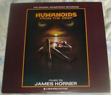 HUMANOIDS FROM THE DEEP (James Horner) rare orig. near mint USA stereo lp (1981)