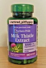 Milk Thistle Extract 1000mg Antioxidant Anti-Inflammatory 180 Softgels