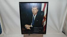 11 x 14 REPRODUCTION PHOTO OF JFK ASK NOT WHAT YOUR COUNTRY CAN DO FOR YOU