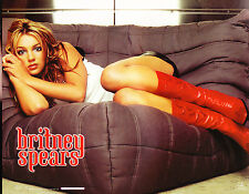 HUGE LOT BRITNEY SPEARS POSTERS FUNKY ENTERPRISES 8X10 GREEN SUIT ON COUCH