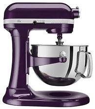 NEW KitchenAid 600 Capacity 6-Quart Pro Stand Mixer Kp26m1ppb Plum-Berry Purple