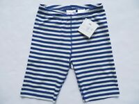 Hanna Andersson Girls Bike Shorts Stripes 100 110 120 130 140 NEW Cotton Blue 12