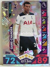 Match Attax 2016/17 Premier League - #388 Dele Alli - Game-Changer