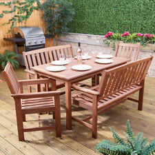 Wood Up to 6 5 Garden & Patio Furniture Sets