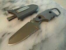 "Gerber Epic Fixed Blade Combat Dagger Boot Knife 4mm Full Tang 7Cr17MoV 7.20"""