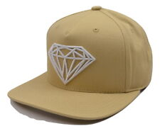 Diamond Supply Co. Brilliant Structured Khaki Tan Adjustable Snapback Cap